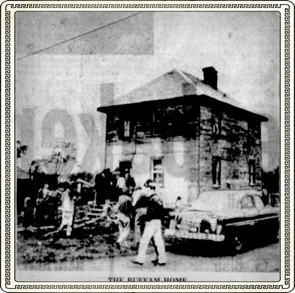 mrs  buffam had no idea what was going to happen to her napoleon street home  in carleton place on may 26, 1957  in fact her husband norman was called  home