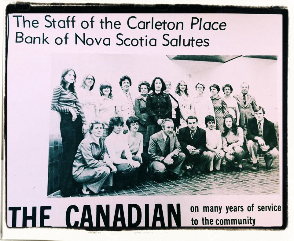 Money Talks – The Staff of the Bank of Nova Scotia Bank in