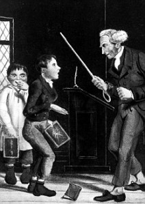 Illustration re corporal punishment of s
