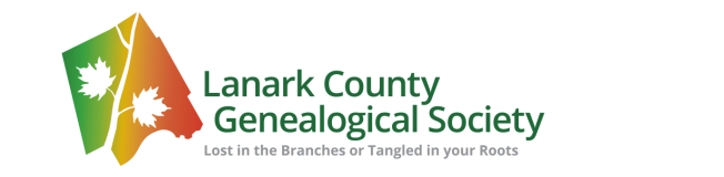 lanark-county-genealogical-society-canada-logo
