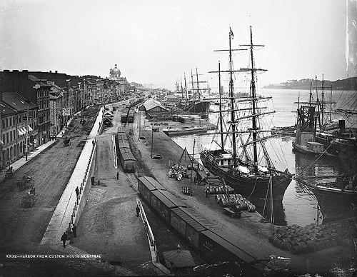 097 View of the harbour, Montreal, QC, 1884.jpg