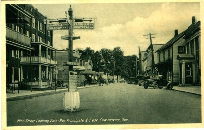 Cowansville, Mainstreet.jpg