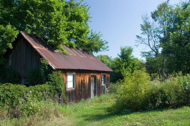 Outbuilding on Property of Allans Mill