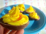 How to Make Cadbury Creme Deviled Eggs