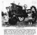 Hissing Steam, Parades and a 1930 Hearse–Pioneer Days Middleville