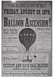 Nellie Thurston –Balloonist Maiden Voyage in McFarlaneGrove
