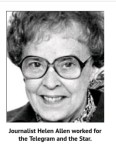 Newspaper Columns of the Past- Today's Child- Helen Allen