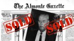 The Almonte Gazette is sold to John Graham of Carleton Place1965