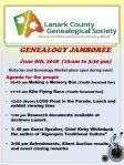 Lanark County Genealogical Society Genealogy Jamboree — June 9th- Chief KirbyWhiteduck