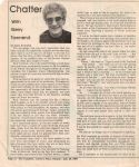 Chatter with Gerry Townend  — Fred Trafford1983