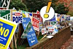 Signs Signs– Nothing but Roadscape? A Humorous Look at Election Signage