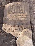 Headstone of Robert Young Jr —Memories