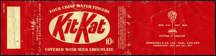 Rowntree - KitKat - Kit Kat - 10-cent candy bar wrapper - … | Flickr