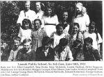 Lanark Village School Photos — 1901 Graduates names namesnames