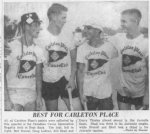The New Carleton Place Canoe Club 1955- 1957