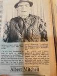 Remembering Albert Mitchell– The Buchanan ScrapbookClippings