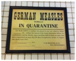 If Spanish Flu was Not Enough—Measles 1917