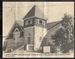 Lanark Baptist Church – Elaine Playfair's Clippings